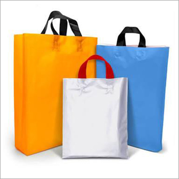 Plastic Handle Carry Bag