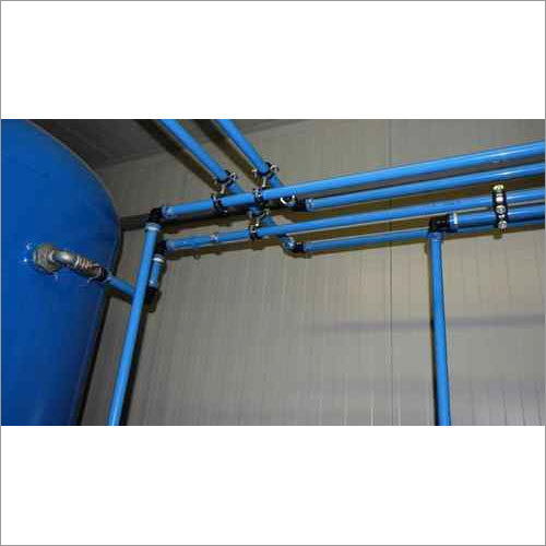 Compressed Air PPCH Piping / SS Air pipe line
