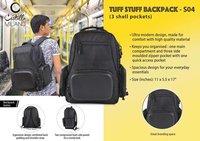 TUFF STUFF BACKPACK (3 Shell Pockets)