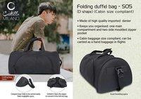 Folding Duffel Bag (D Shape) (Cabin Size Compliant)