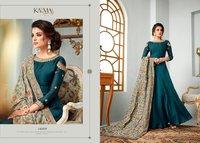 Party Wear Anarkali Silk Suits