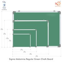 Non Magnetic Economic Green chalk Board