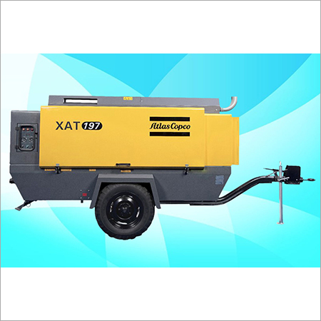 Atlas Copco Diesel Screw Air Compressor XAT 197