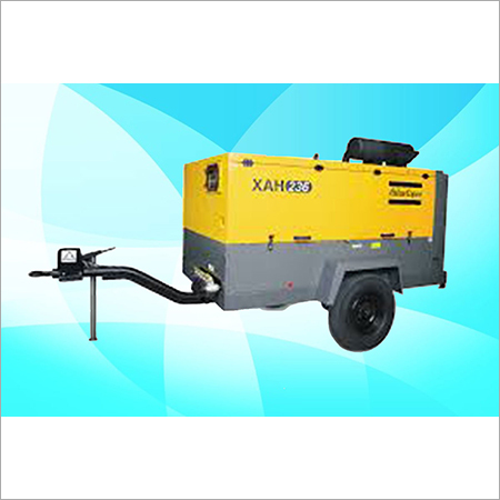 Atlas Copco Diesel Screw Air Compressor XAH 236