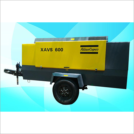 Atlas Copco Diesel Screw Air Compressor XAVS 600