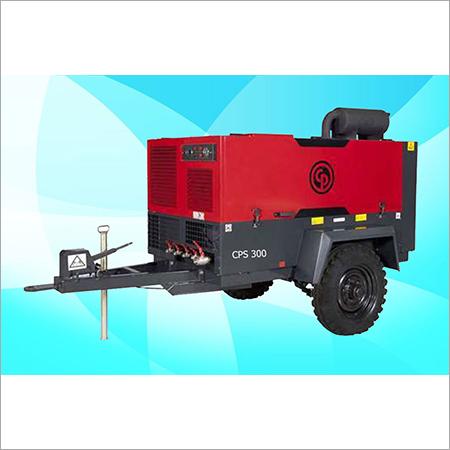 CPS Screw Diesel Air Compressor On Rental CPS 300