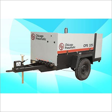 CPS Screw Diesel Air Compressor On Rental CPS 325