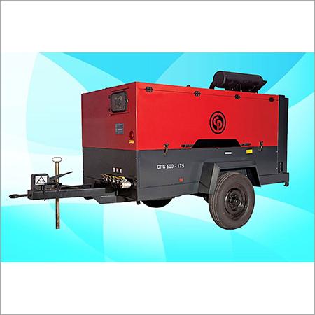 CPS Screw Diesel Air Compressor On Rental CPS 500 - 175