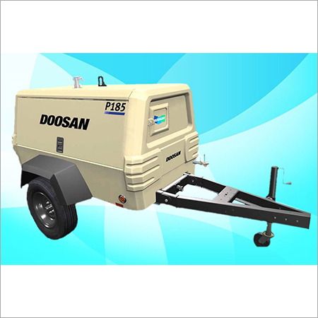 IR-Doosan - Screw Diesel Air Compressor On Rental P-185