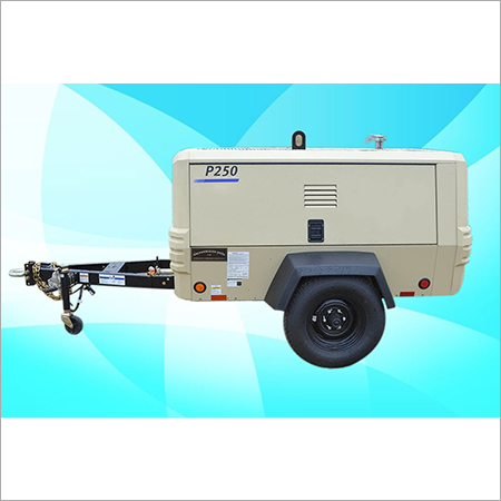 IR-Doosan - Screw Diesel Air Compressor On Rental P-250