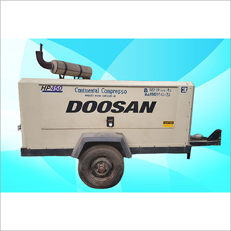 IR-Doosan - Screw Diesel Air Compressor On Rental HP-450-150