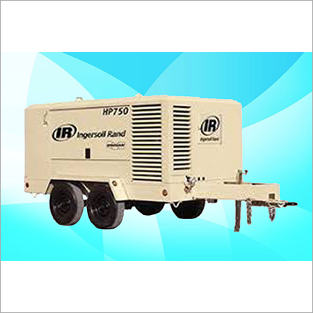 IR-Doosan - Screw Diesel Air Compressor On Rental HP-750