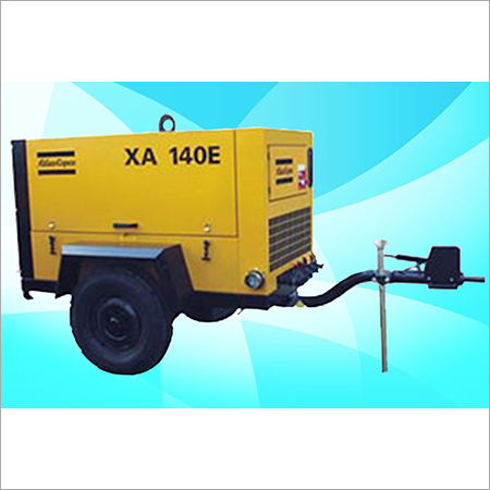 ATLAS COPCO - Screw Electric Air Compressor On Rental