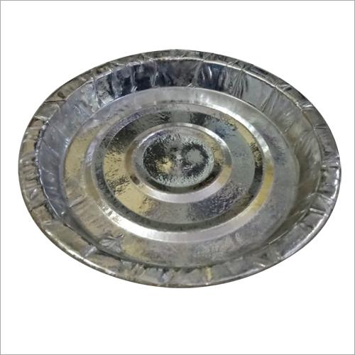 Silver Foil Disposable Paper Plate