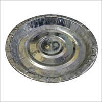 Silver Foil Disposable Paper Plate