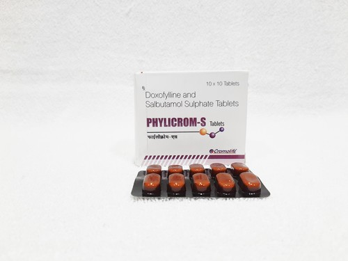 Doxofyline and salbutamol sulphate tablet