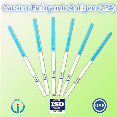 Carcinoembryonic antigen test strip