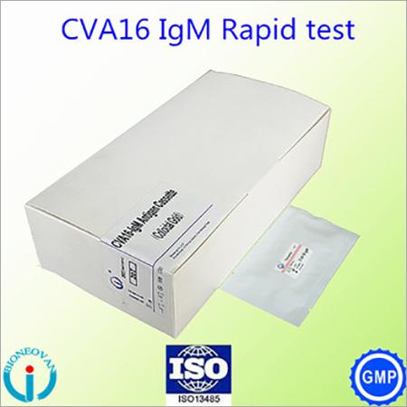 Coxsackie Virus A16 (CVA16)-IgM antibody Cassette BOX