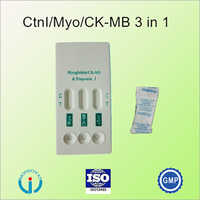 Cardiac Markers Combo (cTnl/Myo/CK-MB) Rapid Test