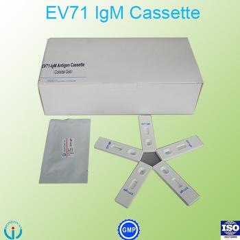 Enterovirus 71 (EV71)-IgM Ab Cassette