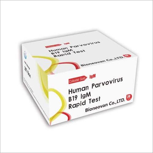 Human Parvovirus B19 rapid cassette