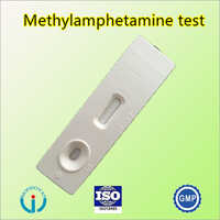 Methyl amphetamine test cassette