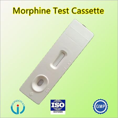 Morphine test cassette