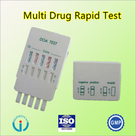 Multi-drug test panel