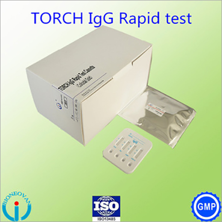 TORCH-IgG 4 in 1 Cassette