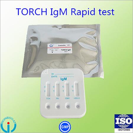 TORCH-IgM 4 in 1 Cassette