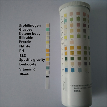 Urinalysis Test Strip