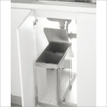 Stainless Pull Out Waste Bin