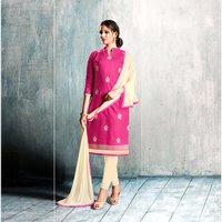 Cotton Embroidery Salwar Kameez