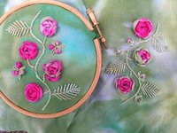 Split Stitch Embroidery