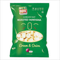 Roasted Makhana Cream & Onion Flavour