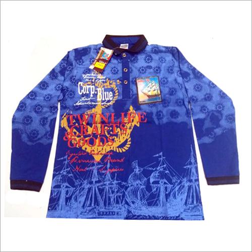 Blue Full Sleeves TShirt