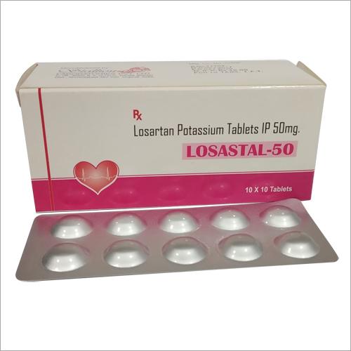 Losartan Potassium 50 mg Tab
