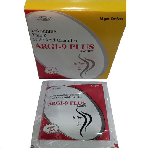 L-Arginine, Zinc & Folic Acid Granules