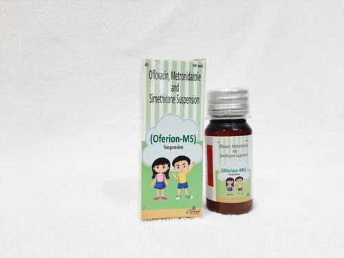 Ofloxacin, Metronidazole, Benzoate & Simethicone Suspension