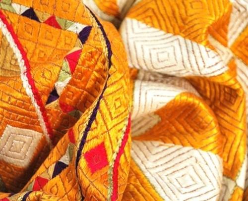 Phulkari Work Fabric