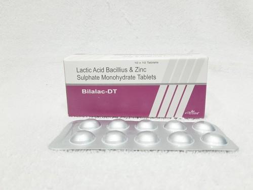 Lactice Acid Bacillus, Folic Acid, Vitamin B12 & Zinc Sulphate Tablet