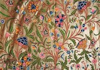 Crewel Work Embroidery / Crewel Work Fabric