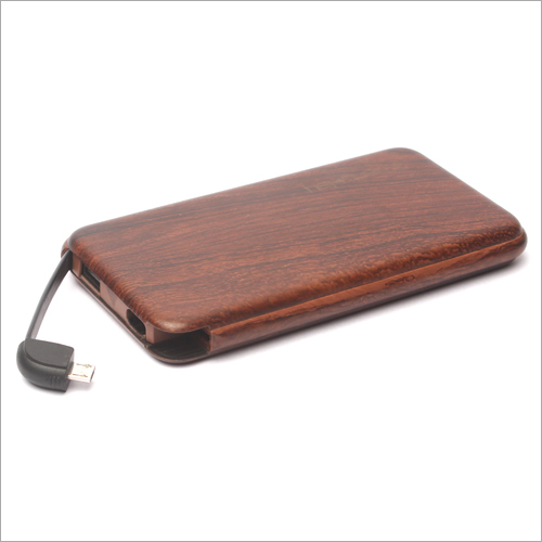 10000mha Wooden Power Bank