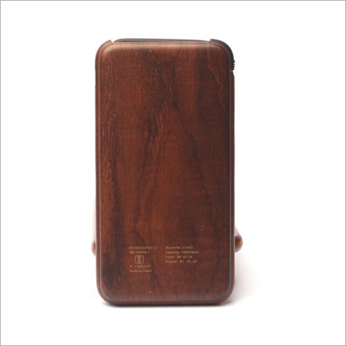 10000mha C Type Wooden Power Bank