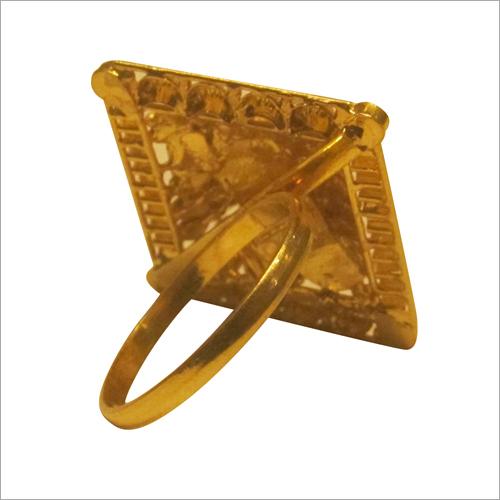Ladies 10 Carat Designer Gold Ring
