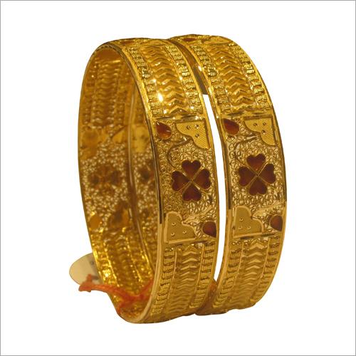 Ladies Designer Gold Bangles