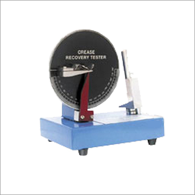 Crease Recovery Tester Machine