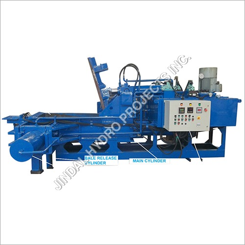 Automatic Triple Action Hydraulic Baling Press Machine