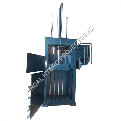 Single Box Hydraulic Baling Press