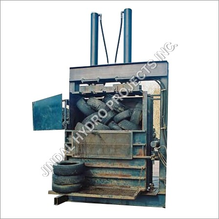 Vertical Tyre Baling Press